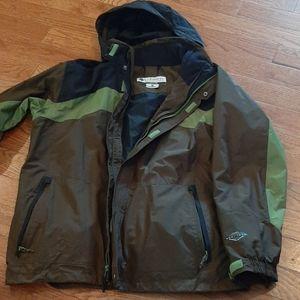 "Columbia ""Whirlibird"" 3-in-1  Omni-Teck  jacket"